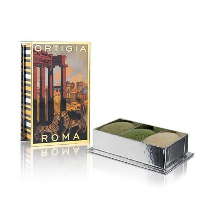 City Box Roma (Soap 40g x 3: Fico d'India, Sicilian Jasmine and Florio)