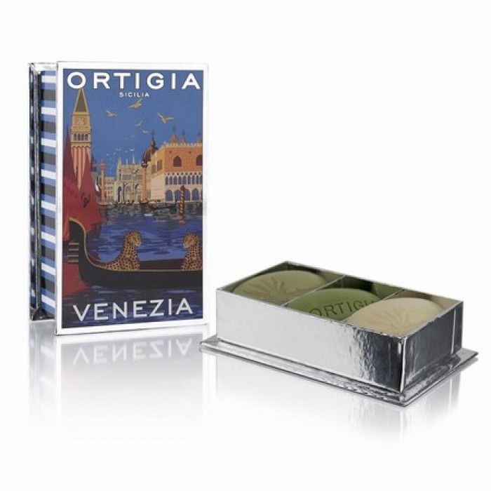 City Box Venezia (Soap 40g x 3: Fico d'India, Sicilian Jasmine and Florio)