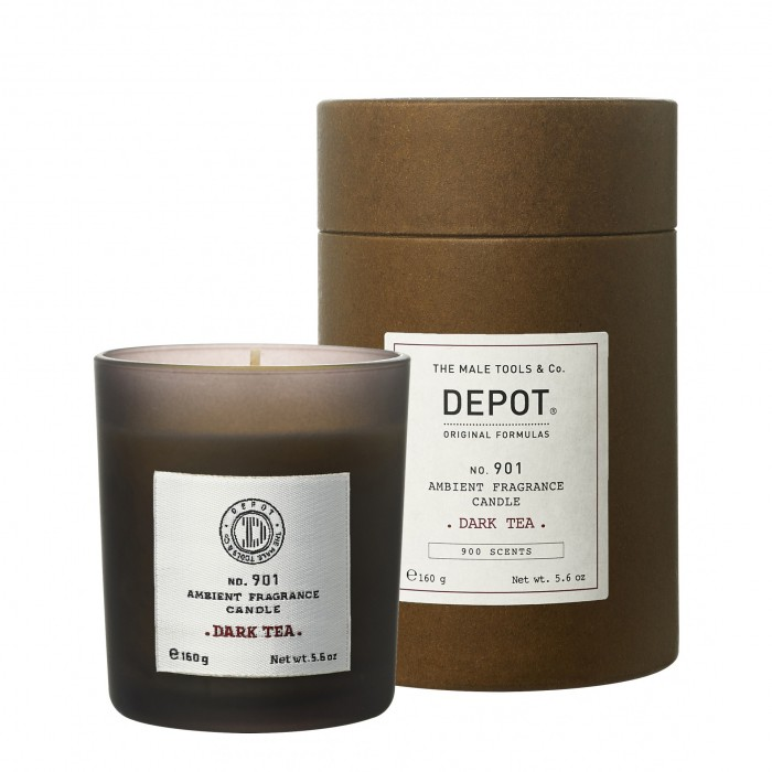 901 ambient fragrance candle DARK TEA -160gr