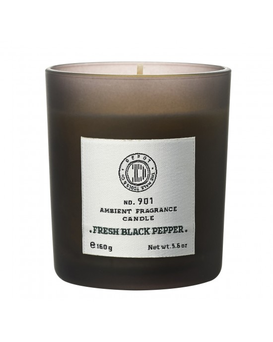 901 ambient fragrance candle FRESH BLACK PEPPER - 160gr Κεριά