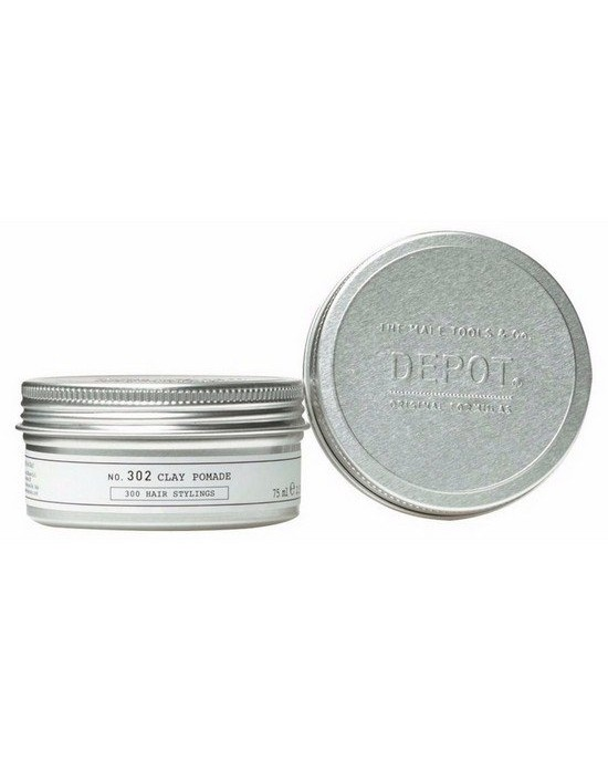 302 CLAY POMADE -75ml Styling μαλλιών