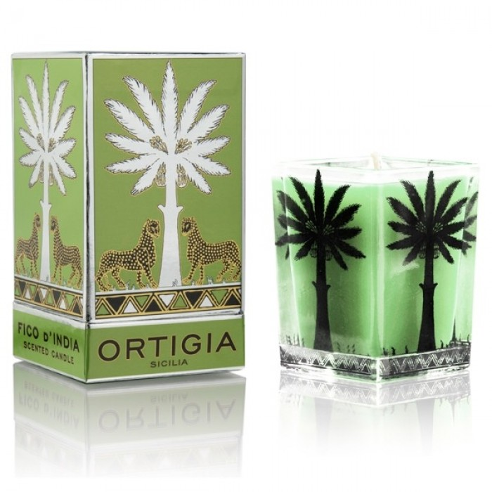 Fico d'India Large Square Candle